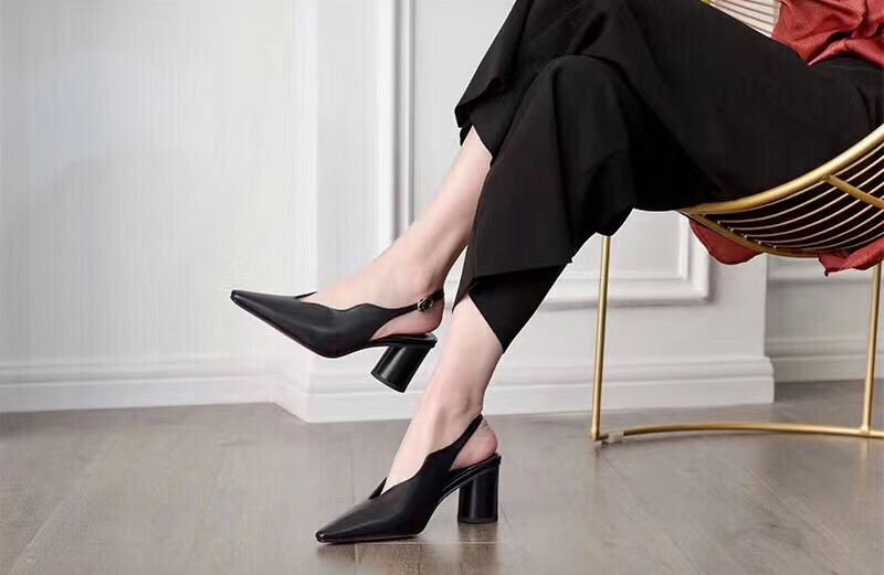 Lady Fashion Heel Slipper